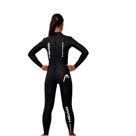 Head Black Marlin 4.3. 1,5 Tri Suit Damer, black/silver
